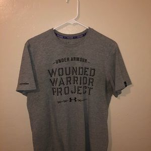Under Armour wounded warrior T-shirt